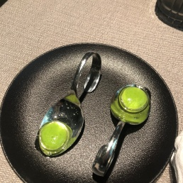 Amuse-bouche at Caviar & Bull
